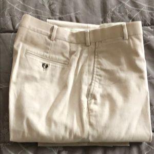 Men's khaki trousers. J. Crew 36 32. Soft